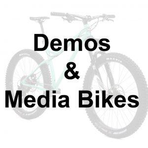 Demos & Media Bikes